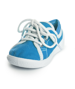 Blauwe Mini Sneakers - afb. 1