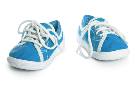 Blauwe Mini Sneakers - afb. 2