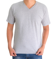 H&H T-shirt basic Grijs