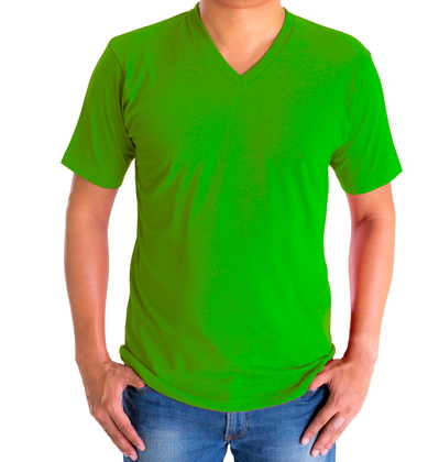 H&H T-shirt basic Groen - afb. 1