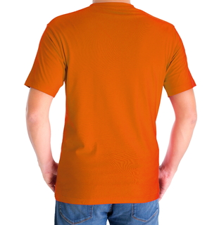 H&H T-shirt basic Oranje - afb. 2