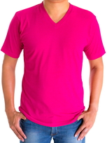 H&H T-shirt basic Roze
