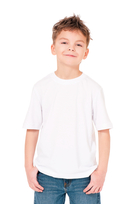 H&H T-shirt basic Wit