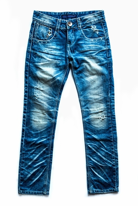 St' Diggle Jeans Blauw - afb. 1